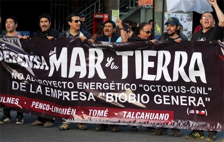 http://www tribunadelbiobio cl - Masiva marcha realizada en